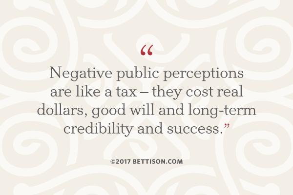 Bettison Crisis Communications Negative Publicity